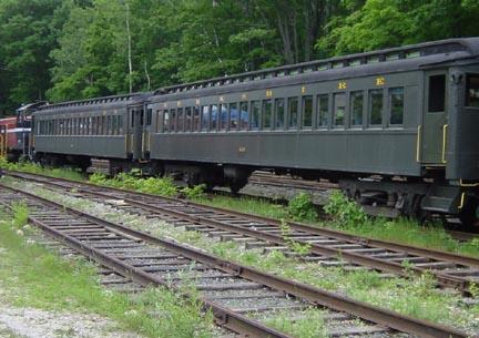 Lettered passenger cars