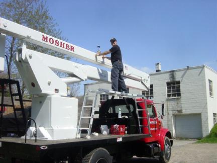 Mosher Tree bucket truck