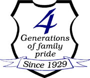 Sign Design & Sales 4 Generations of Family Pride